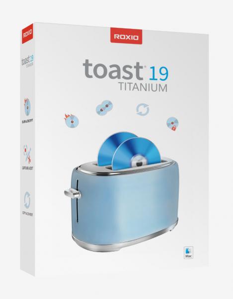 Roxio Toast 19 Titanium | für Mac