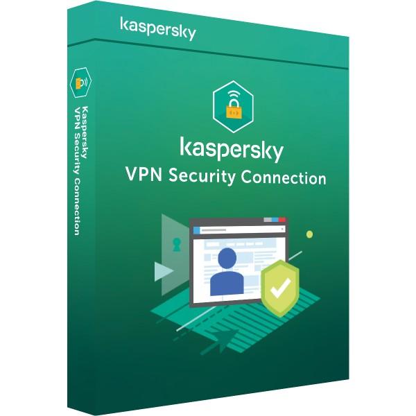 Kaspersky Secure Connection VPN 2021 | 5 Geräte