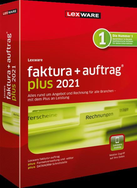 Lexware Faktura + Auftrag Plus 2021   365 Tage