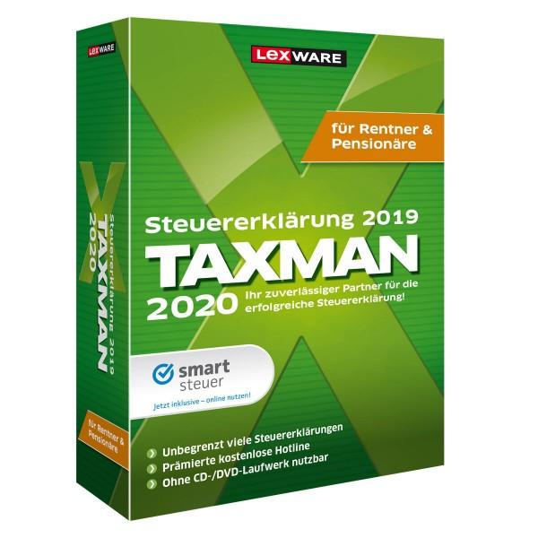 Lexware TAXMAN 2020 für Rentner und Pensionäre | für Windows