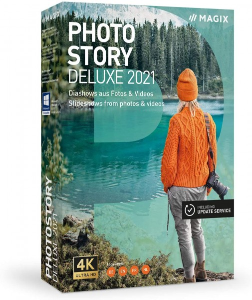 Magix Photostory Deluxe 2021 | für Windows