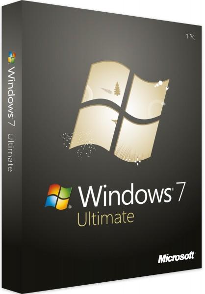 Windows 7 Ultimate | 32/64 Bit | 1PC | Sofortdownload