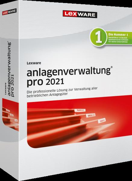 Lexware Anlagenverwaltung Pro 2021 | 365 Tage