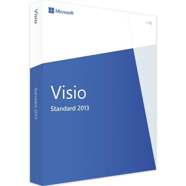 Microsoft Visio 2013 Standard | für Windows - EN