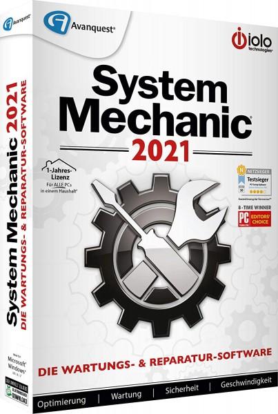 iolo System Mechanic 21   für Windows