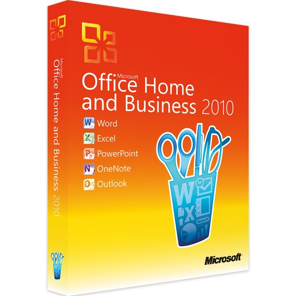 Microsoft Office 2010 Home and Business   für Windows