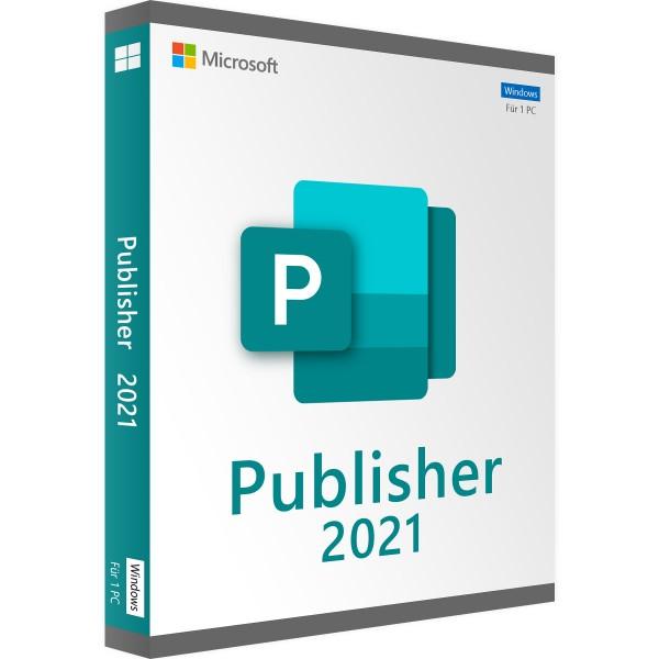 Microsoft Publisher 2021   für Windows